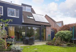 duurzaamheid huis met zonnepanelen