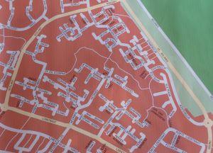 plattegrond wijk zilverkamp-zuid