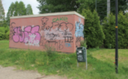 Van lelijke graffiti naar mooie muurschilderingen