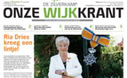 Onze Wijkkrant uitgave nr 2 juni 2021