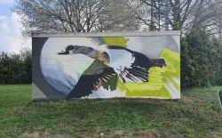 Officiele onthulling natuur muurschilderingen Zilverkamp
